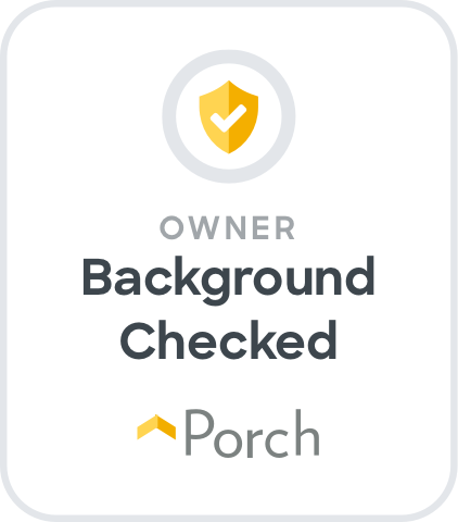 Porch Owner Background Checked Icon